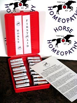 The Horse Homeopathy First Aid Kit